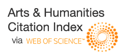 ISI Web of SCIENCE - Arts & Humanities Citation Index